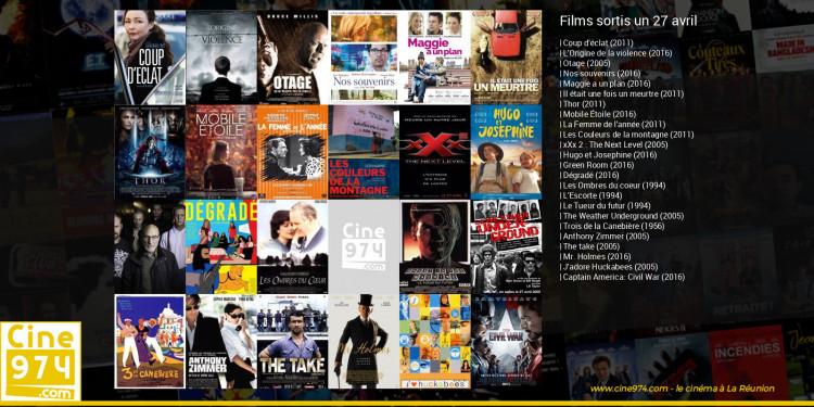 Films sortis un 27 avril