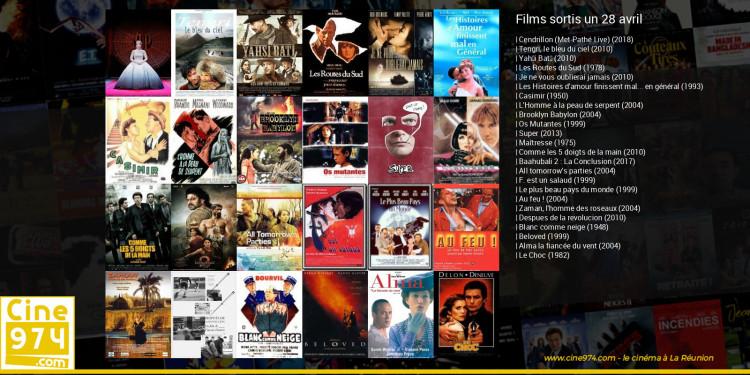 Films sortis un 28 avril