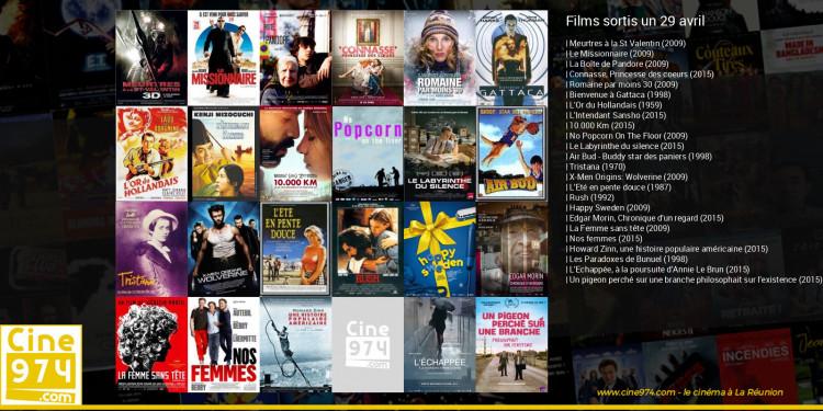 Films sortis un 29 avril