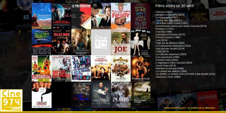Films sortis un 30 avril