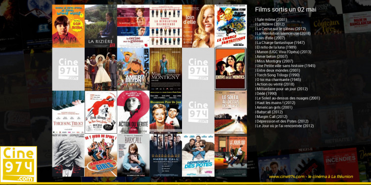 Films sortis un 02 mai