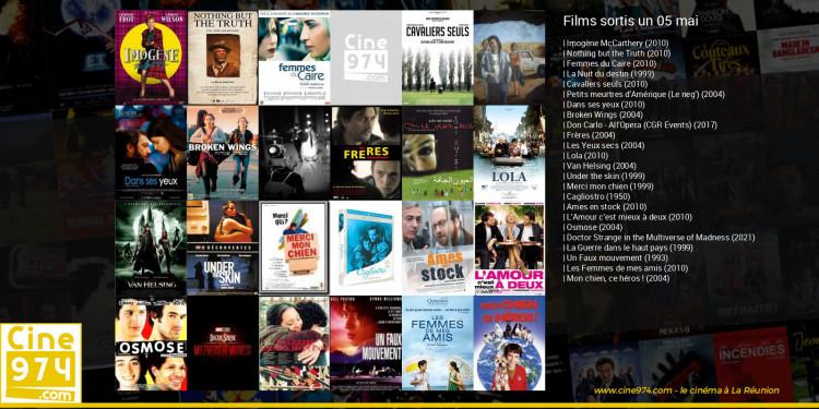 Films sortis un 05 mai