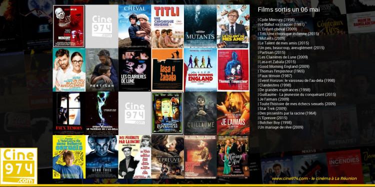 Films sortis un 06 mai