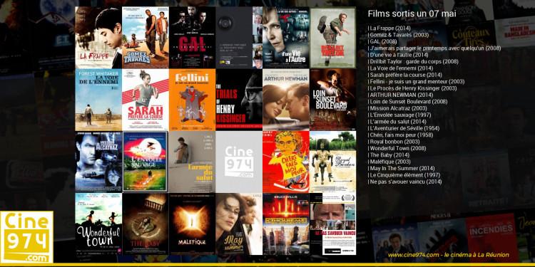 Films sortis un 07 mai