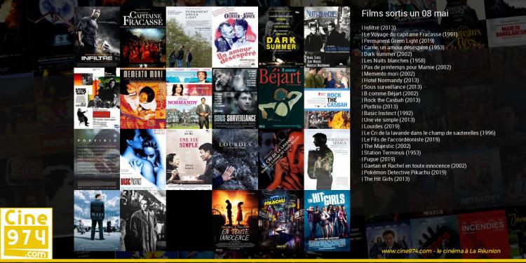 Films sortis un 08 mai