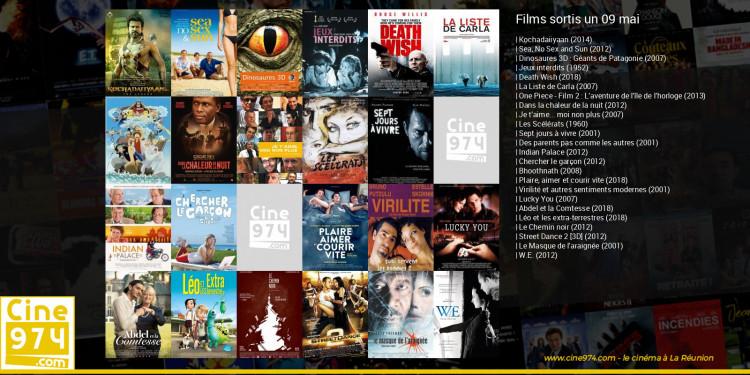 Films sortis un 09 mai