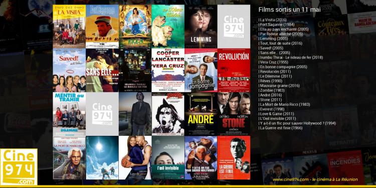 Films sortis un 11 mai