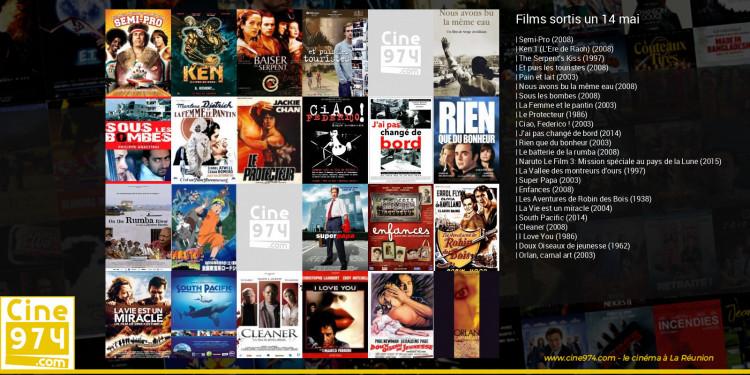 Films sortis un 14 mai