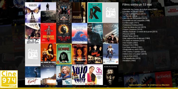 Films sortis un 15 mai
