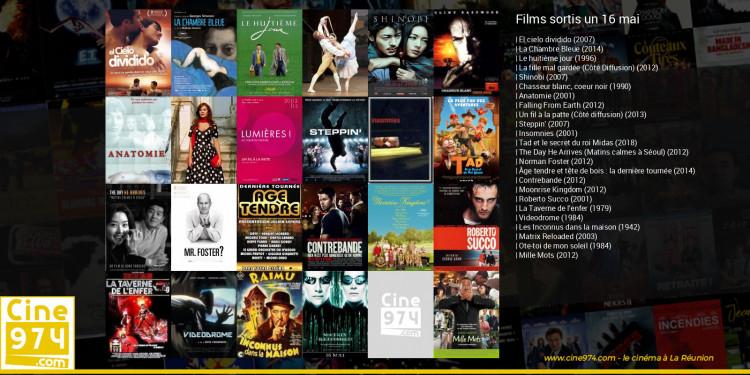 Films sortis un 16 mai