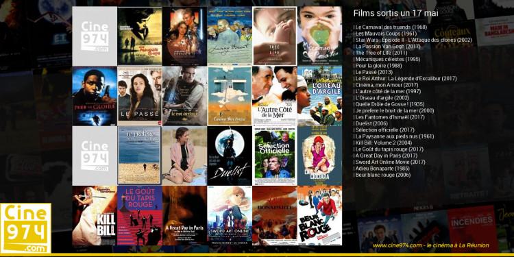 Films sortis un 17 mai