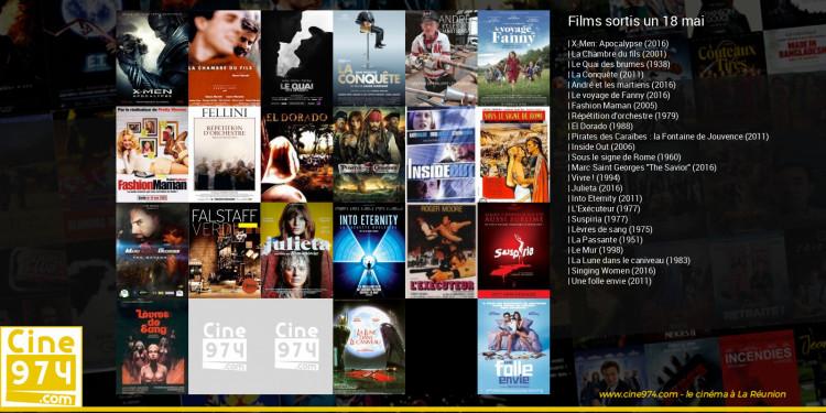 Films sortis un 18 mai