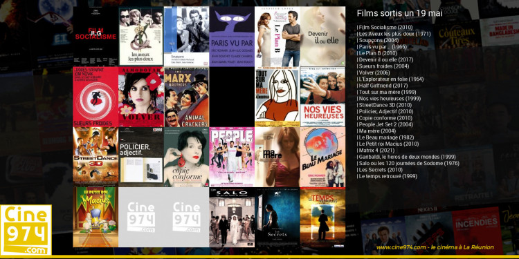 Films sortis un 19 mai