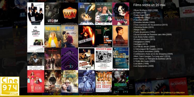 Films sortis un 20 mai