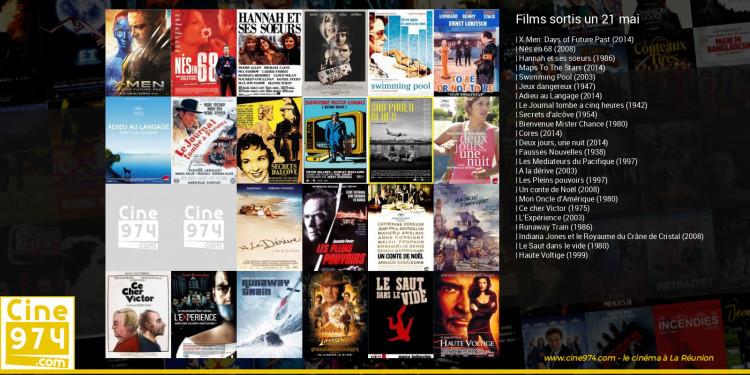 Films sortis un 21 mai