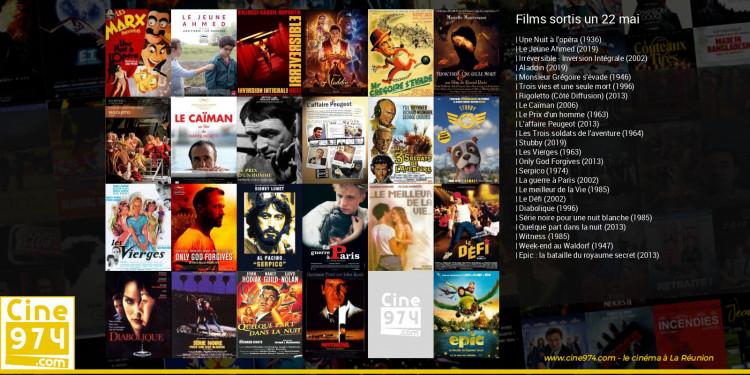 Films sortis un 22 mai