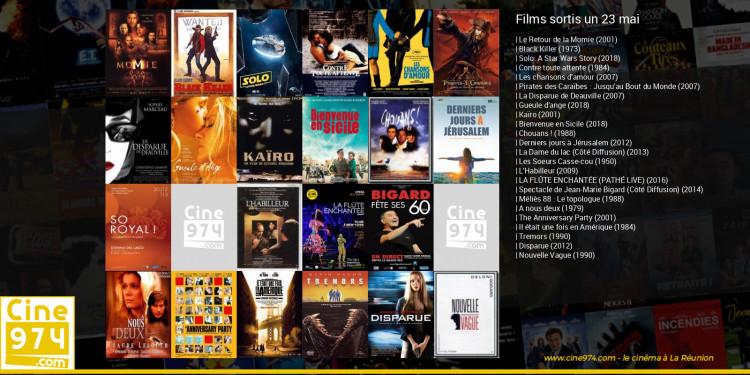 Films sortis un 23 mai