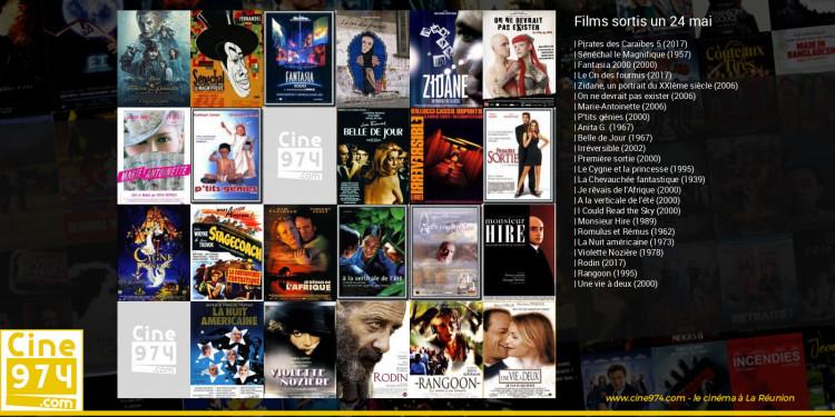 Films sortis un 24 mai
