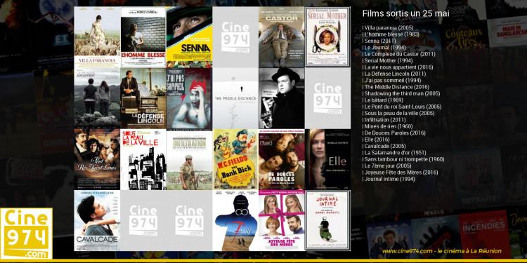 Films sortis un 25 mai