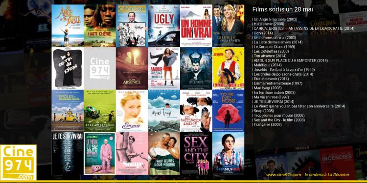 Films sortis un 28 mai