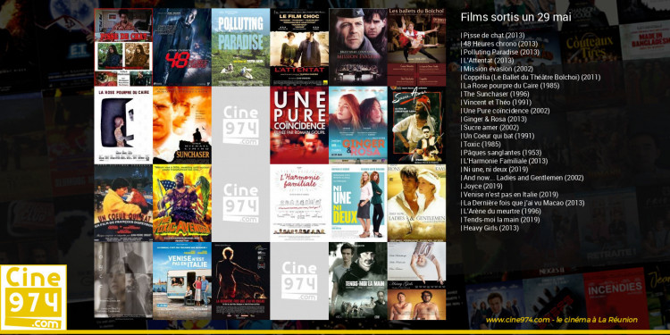 Films sortis un 29 mai