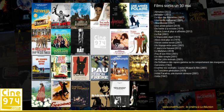 Films sortis un 30 mai