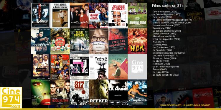 Films sortis un 31 mai