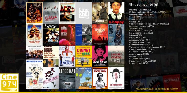 Films sortis un 01 juin