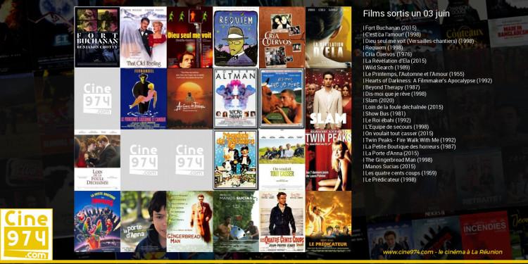 Films sortis un 03 juin