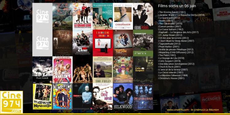 Films sortis un 06 juin