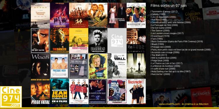 Films sortis un 07 juin