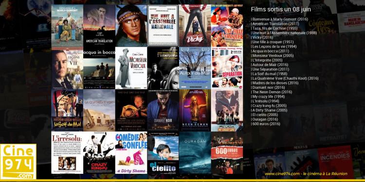 Films sortis un 08 juin