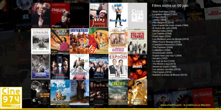 Films sortis un 09 juin