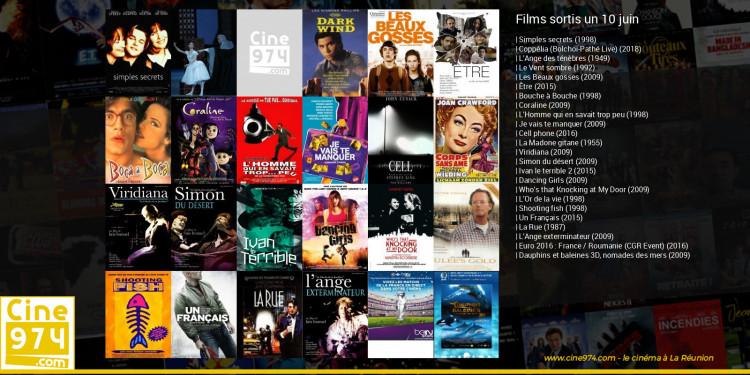 Films sortis un 10 juin