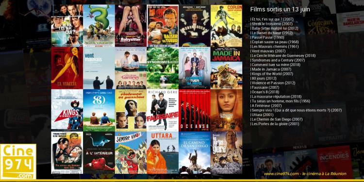 Films sortis un 13 juin