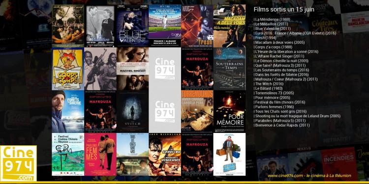 Films sortis un 15 juin