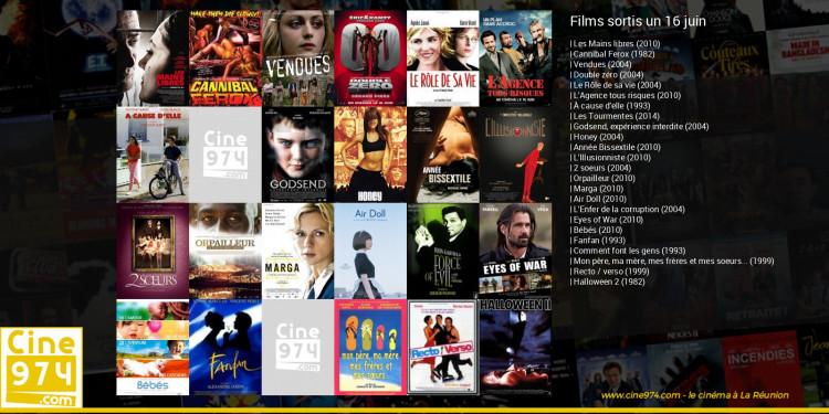 Films sortis un 16 juin