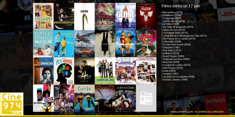Films sortis un 17 juin