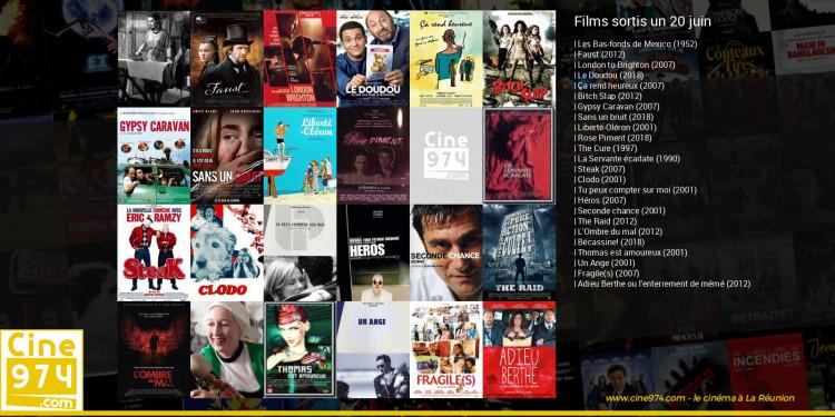 Films sortis un 20 juin