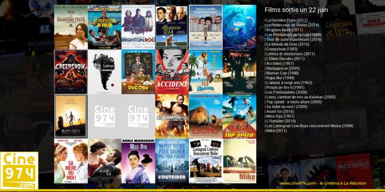 Films sortis un 22 juin