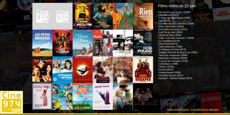Films sortis un 23 juin