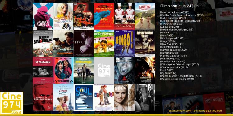 Films sortis un 24 juin