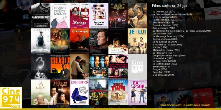 Films sortis un 25 juin