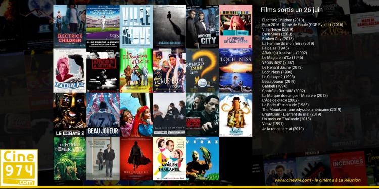 Films sortis un 26 juin