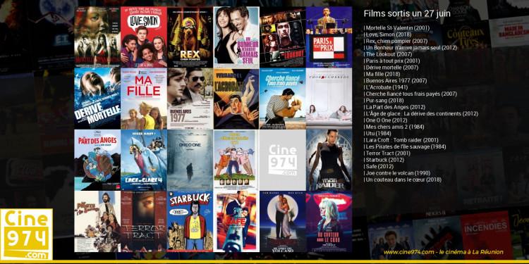 Films sortis un 27 juin