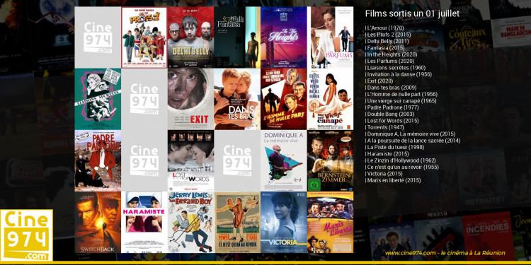 Films sortis un 01 juillet