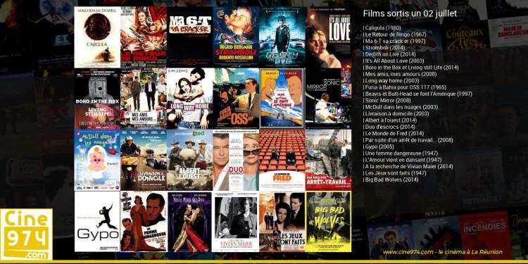 Films sortis un 02 juillet