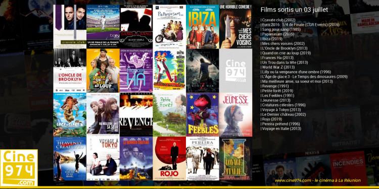 Films sortis un 03 juillet