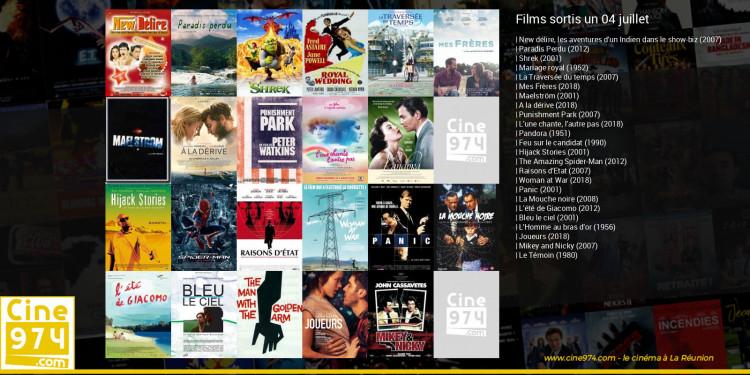 Films sortis un 04 juillet