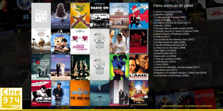 Films sortis un 05 juillet